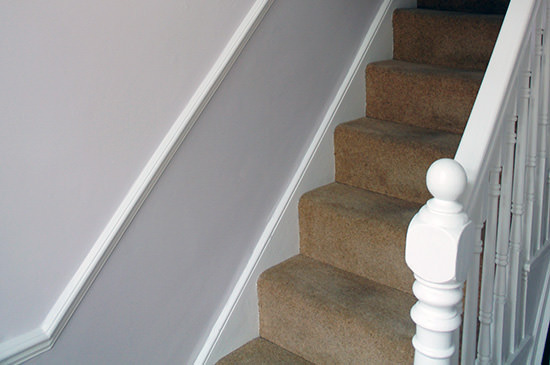 hallway painting and decorating in wimbledon london